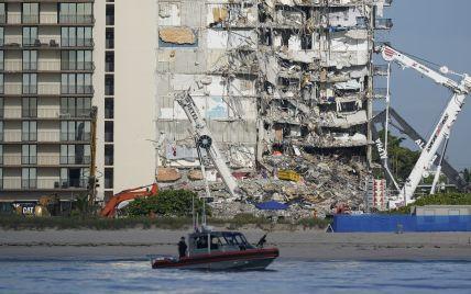 На руинах обрушившегося дома в Майами прекратили поиски тел