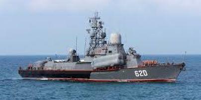 Ракетный катер РФ заставил турецкий корабль изменить курс