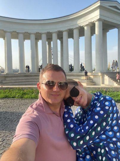 Катя Осадчая и Юрий Горбунов / © Instagram Каті Осадчої