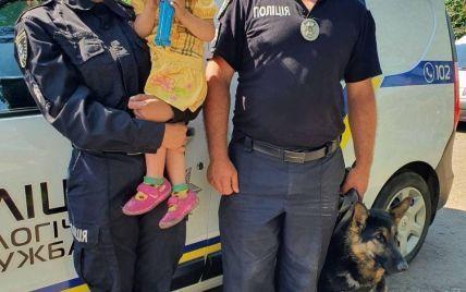Всю ніч провела в полі: у Миколаївській області з собаками і квадрокоптером шукали 2-річну дівчинку
