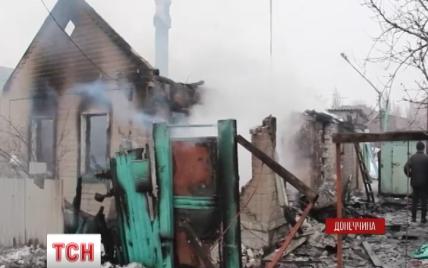 Вранці в Дебальцевому бойовики накрили артобстрілом житлові будинки