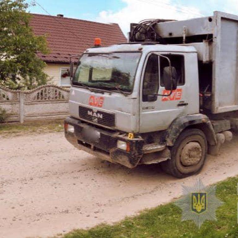 В Ивано-Франковской области мусоровоз насмерть сбил мужчину: фото