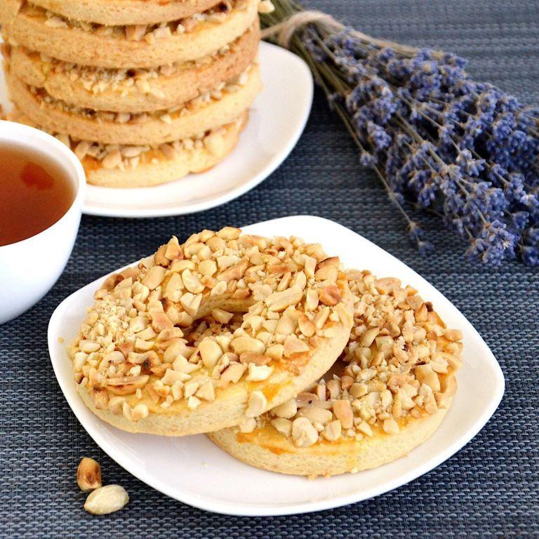 Пісочне кільце з арахісом - рецепт смачної випічки