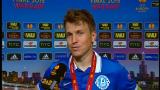 Руслан Ротань поблагодарил команду и тренеров за еврокубковую сказку