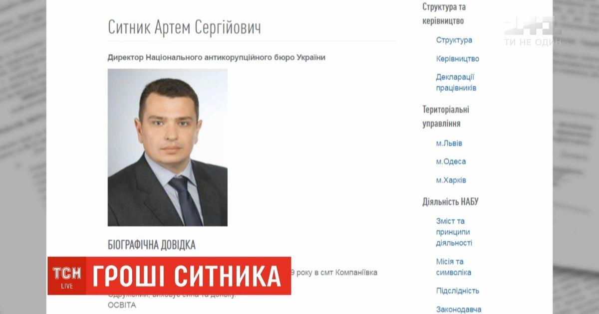 Сытник получил деньги за продажу земельного участка в Крыму и не отметил это в своей декларации