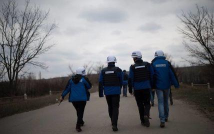 Біля Донецької фільтрувальної станції обстріляли безпілотник ОБСЄ