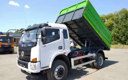 В Україні на базі відомого виробника виготовили самоскид підвищеної вантажопідйомності