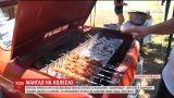 Житель Кривого Рога обустроил мангал прямо в собственном автомобиле