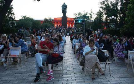 В Киеве в парке Шевченко в течение двух месяцев бесплатно будут показывать кино под открытым небом
