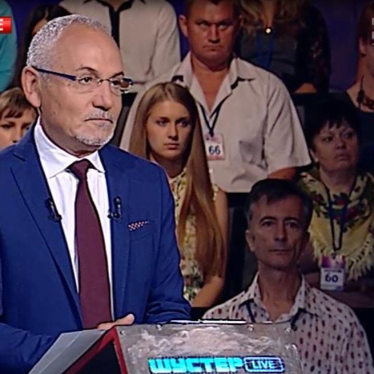 Эфир политического ток-шоу Шустер Live начался с минуты молчании