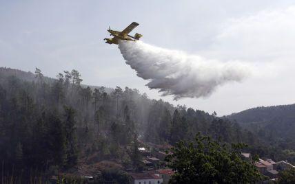 Лесные пожары дошли до Португалии: горит юг страны