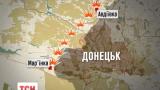 Наиболее ожесточенное противостояние на Донбассе продолжаются в окрестностях Донецка