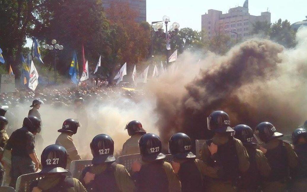 Були поранені десятки силовиків / © Фото Наталії Нагорної/ТСН