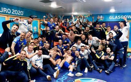 Радости нет предела: яркие эмоции игроков сборной Украины после триумфа над шведами (фото, видео)