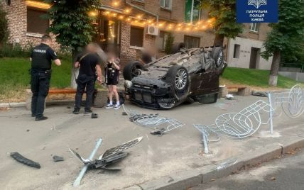 Рівень алкоголю у сім разів перевищив норму: у Києві п'яний водій вчинив ДТП