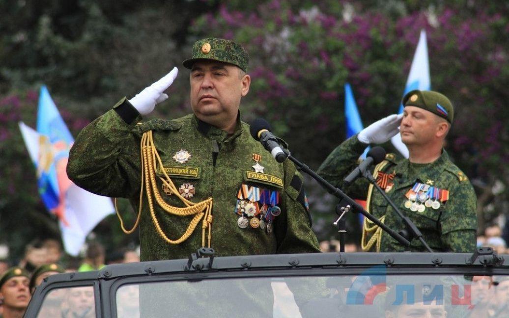 """Военный парад в """"ЛНВ"""" / © Луганский информационный центр"""