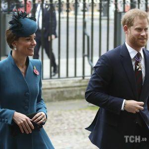 Герцогиня Кембриджская публично уличила принца Гарри во лжи