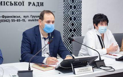 Мер Івано-Франківська заборонив видавати допомогу на лікування COVID-19 невакцинованим мешканцям
