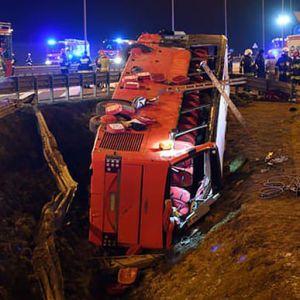 ДТП українського автобуса в Польщі: помер ще один пасажир, який отримав тяжкі травми