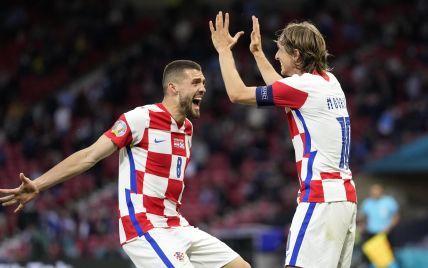 Результат не на користь України: Хорватія вирвала перемогу в матчі з Шотландією і вийшла до 1/8 фіналу Євро-2020