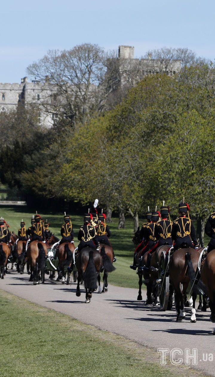 Виндзорский замок в день прощания с принцем Филиппом / © Associated Press