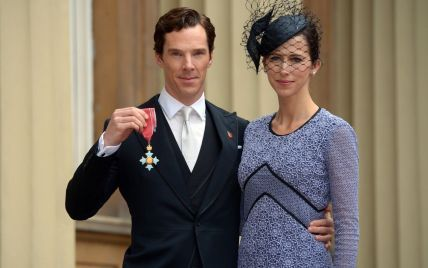 Заслужил: Елизавета II наградила Бенедикта Камбербэтча орденом Британской империи