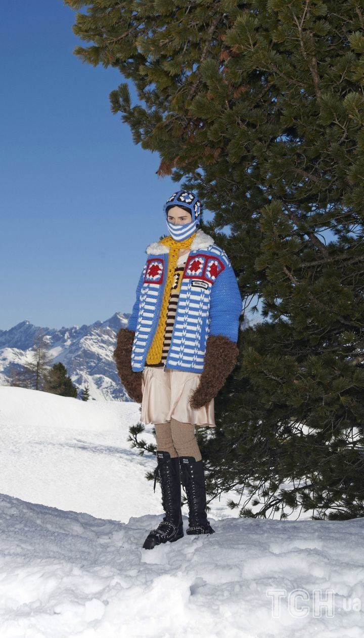 Колекція Miu Miu прет-а-порте сезону осінь-зима 2021-2022 / © East News