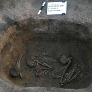 У Дніпропетровській області розкопали поховання древніх цивілізацій