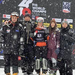 Сноубордистка Данча, яка ввійшла в історію України: за 10 років нарешті такий високий результат