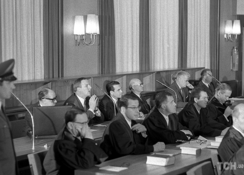 Зал суда во время процесса, 27 мая 1968 года / © Associated Press