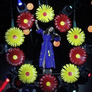 """Красотка Злата Огневич устроила танцы под потолком на концерте """"Мисс Украина 2015"""""""