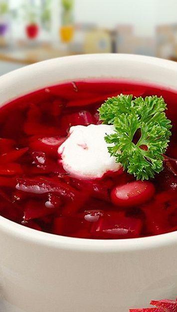 Самый вкусный украинский борщ