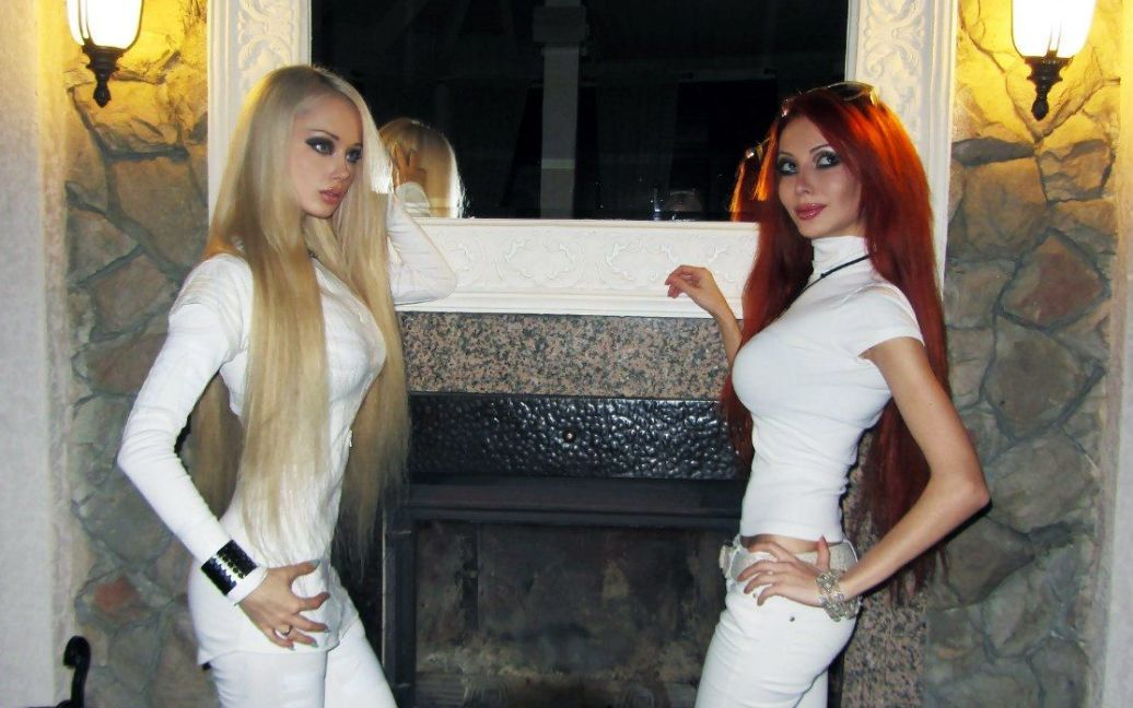 Ольга Архангельська (праворуч) з подругою / © Ольга Архангельська (ВКонтакте)