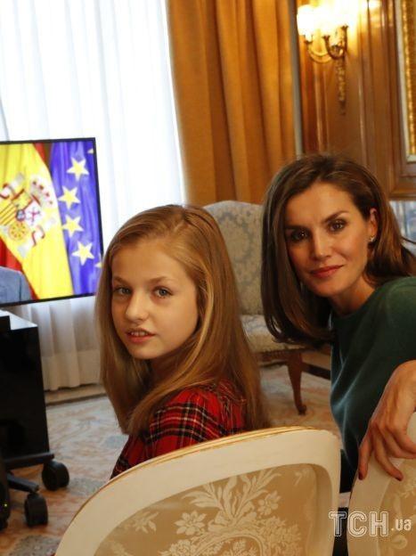 Королева Летиция с дочками / © Getty Images