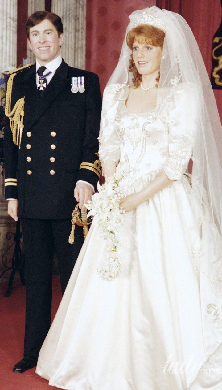 Весілля Сари Йоркської і принца Ендрю / © Associated Press