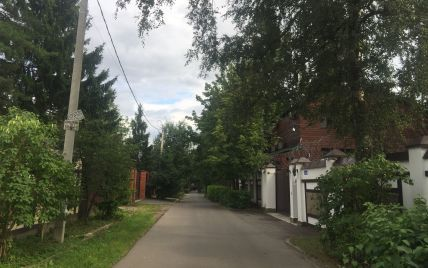 """Полет над """"гнездом"""" Януковича: ТСН показала с воздуха вероятное имение Януковича в Подмосковье"""