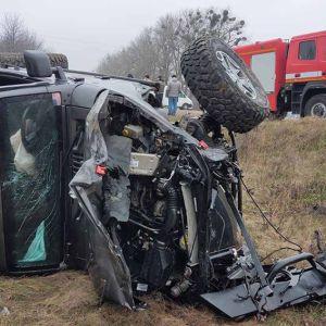 В ужасном ДТП на Хмельнитчине погибла женщина, еще пять человек получили травмы
