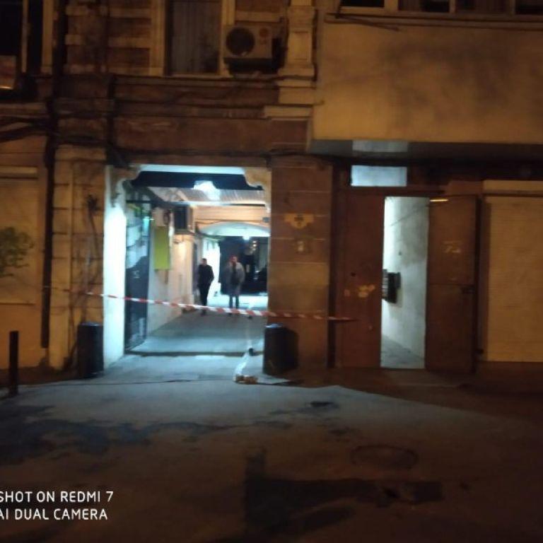 В центре Одессы к газовой трубе многоэтажки привязали гранату — СМИ