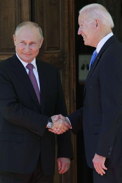 Зустріч Байдена та Путіна: онлайн-трансляція історичного саміту в Женеві