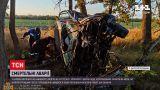 Новости Украины: смертельная авария в Харькове - мотоцикл столкнулся с двумя легковушками