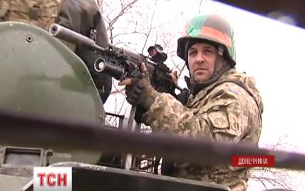 """Бійців """"Азову"""" обстрілюють з мінометів під Гранітним"""