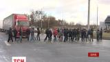 У Харкові мітингувальники перекривали виїзд з міста