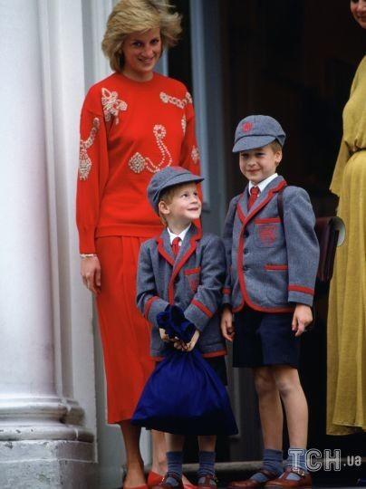 Принцесса Диана с сыновьями / © Getty Images
