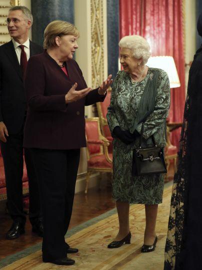 Ангела Мерлкель і королева Єлизавета II / © Associated Press