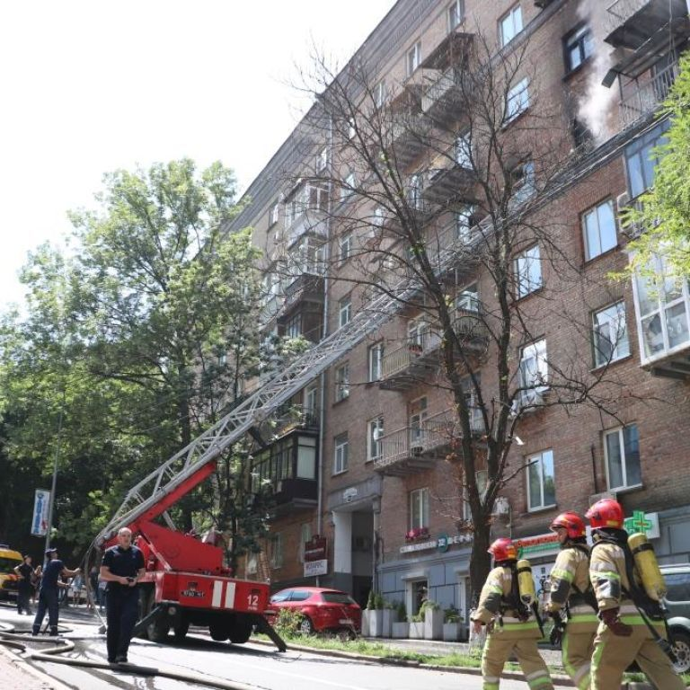 У пожежі в центрі Києва загинула паралізована жінка