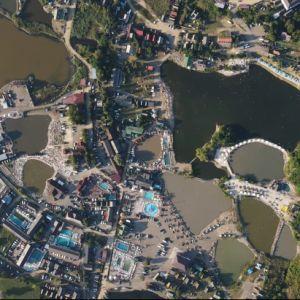 Известный курорт Закарпатья показали с высоты птичьего полета
