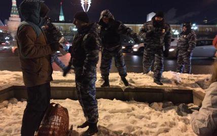 На Манежній площі затримали щонайменше 245 осіб - ЗМІ