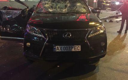 Lexus, сбивший пешеходов в Харькове, ранее ездил на красный свет