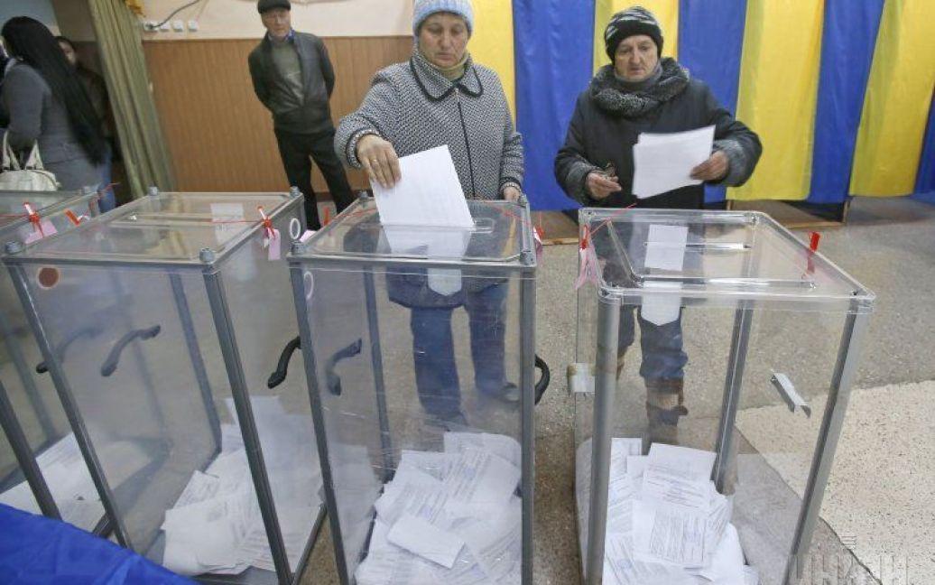 Украина голосует / © УНИАН