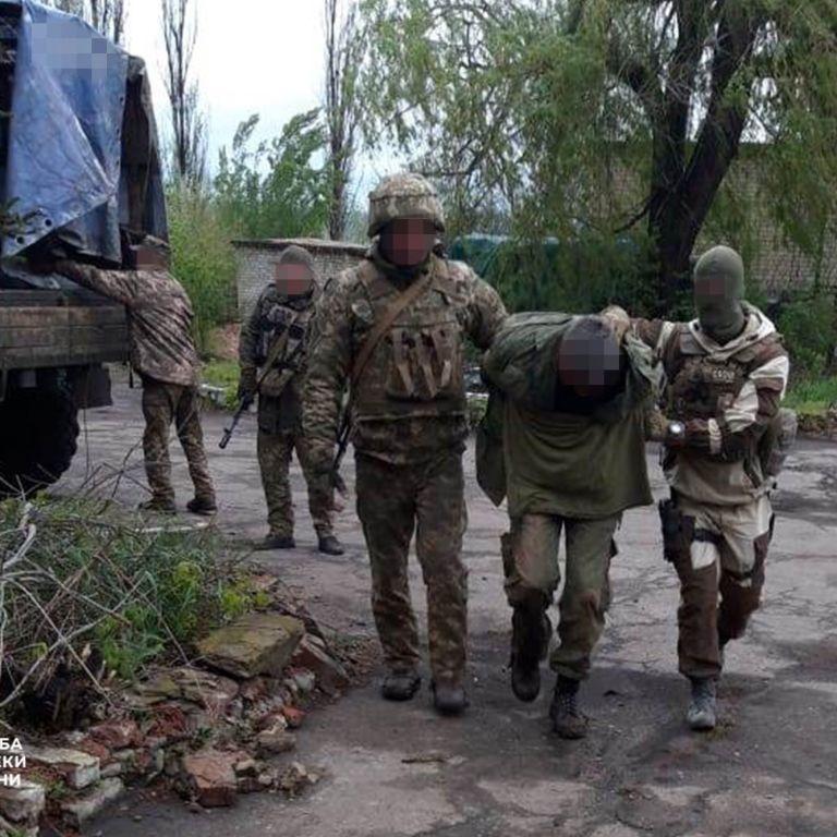 СБУ задержала разведчика боевиков, шпионившего вблизи линии огня